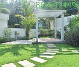 Excellent gardens